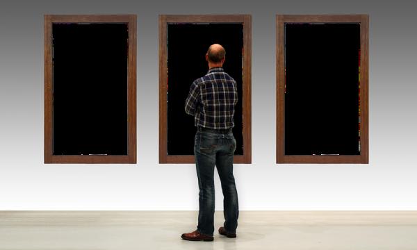 La mostra dove l'artista ha regalato tutti i suoi quadri