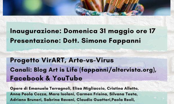 CONFLUENZE PARALLELE, RASSEGNA D'ARTE CON 50 ARTISTI
