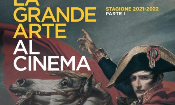 LA GRANDE ARTE TORNA AL CINEMA